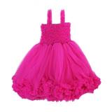 美國 RuffleButts 優雅甜美蕾絲洋裝 覆盆子(RBPDR04)