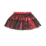 美國 RuffleButts 小女童甜美公主雪紡小澎裙 紅色(RBPSK05)