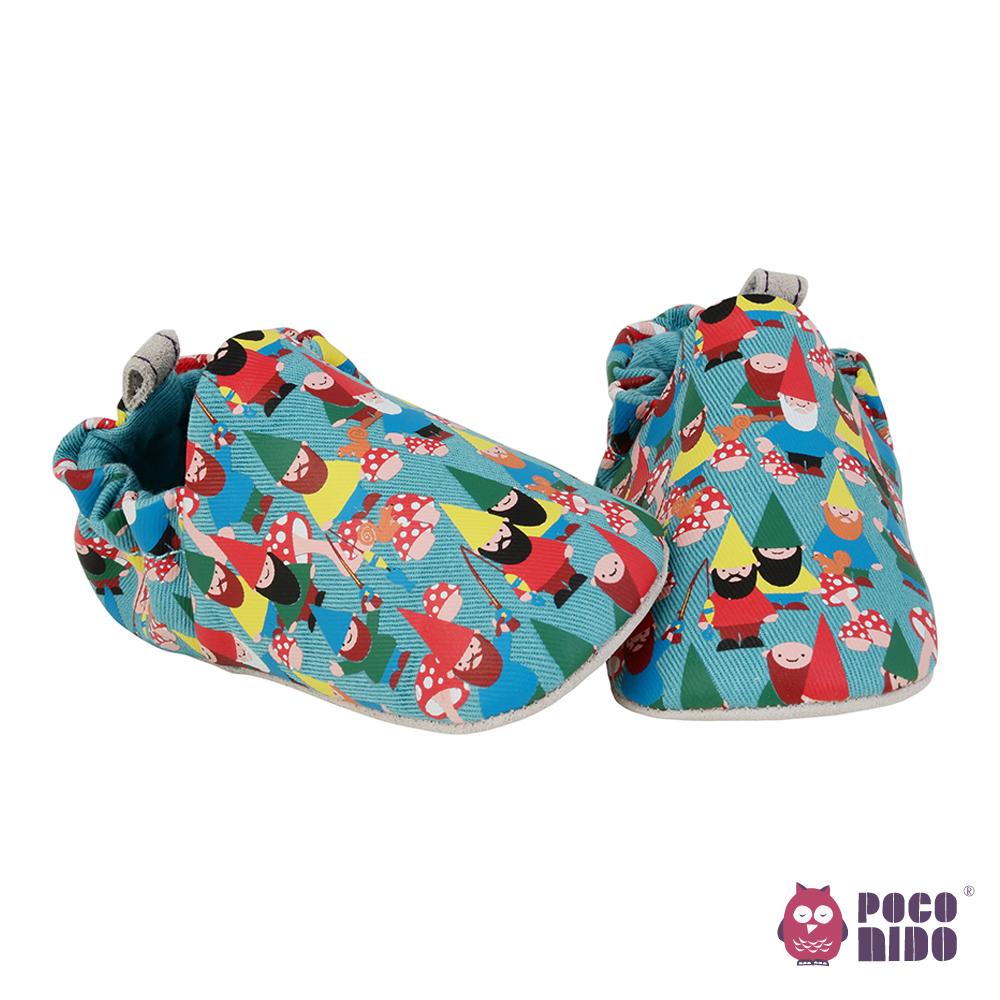 英國 POCONIDO 純手工柔軟嬰兒鞋 (小矮人)