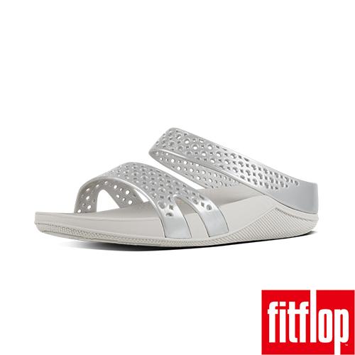 FitFlop™- (女款)WELLJELLY Z-SLIDE-銀色