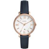 FOSSIL 網羅質感日期晶鑽時尚腕錶-ES4291
