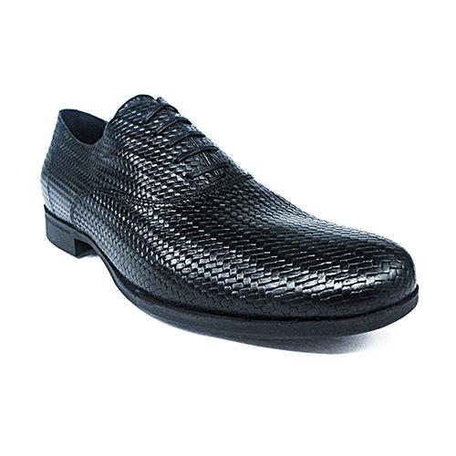 GEOX U BESMINGTON  紳士鞋 牛皮  黑色 (U721XB000J39999)