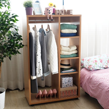 EASY HOME 可移動多層收納衣櫃