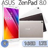 (福利品) ASUS ZenPad 8吋/八核心/16GB/LTE版通話平板電腦 (Z380KNL) 金色/黑色
