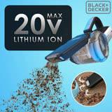 美國 BLACK+DECKER 強效鋰電 無線吸塵器