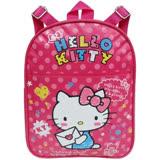 三麗鷗 Hello Kitty兒童單層書包-愛心信