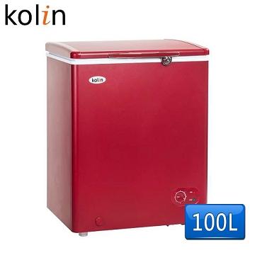 【歌林Kolin】100L臥式冷凍冰櫃(KR-110F02-R)