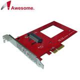 Awesome PCIe 3.0x4 U.2 NVMe SSD轉接擴充卡-AWD-PE-132