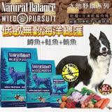 美國NB大地野饌《無榖海洋總匯 鱒魚+鮭魚+鮪魚》犬糧4磅