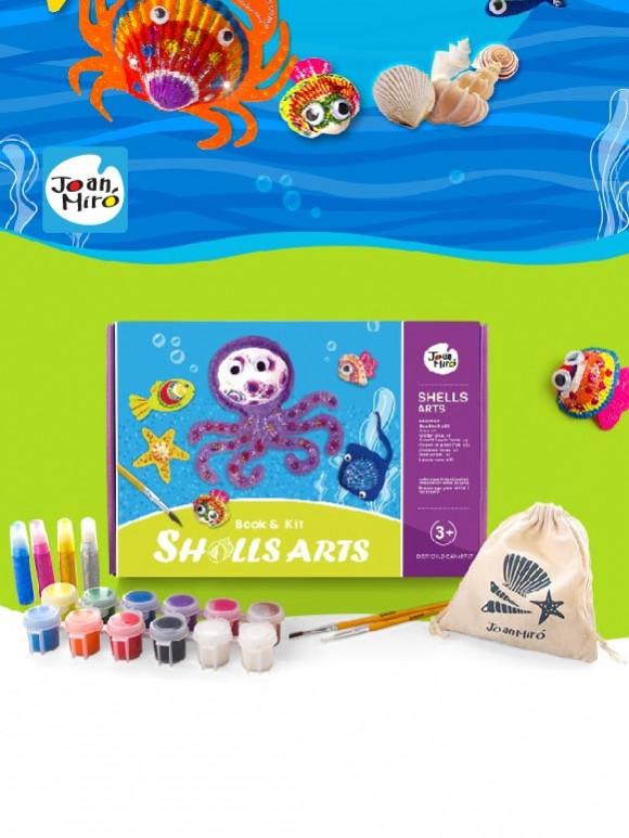 兒童創意繪畫系列-貝殼彩繪
