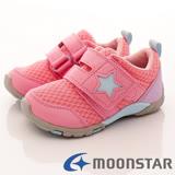 日本Carrot機能童鞋-美式星星機能款-C21664粉-(15cm-21cm)