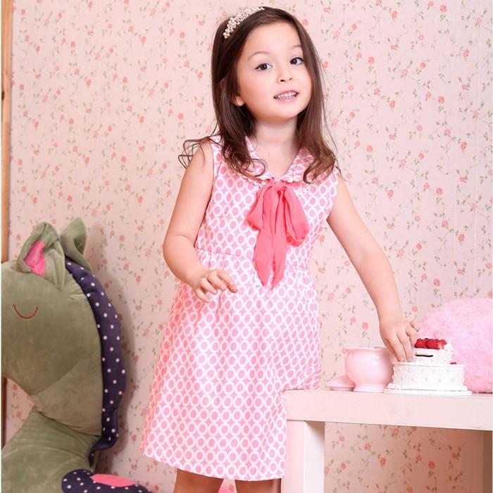 夏日《粉色領巾款》甜美氣質小洋裝【現貨+預購】