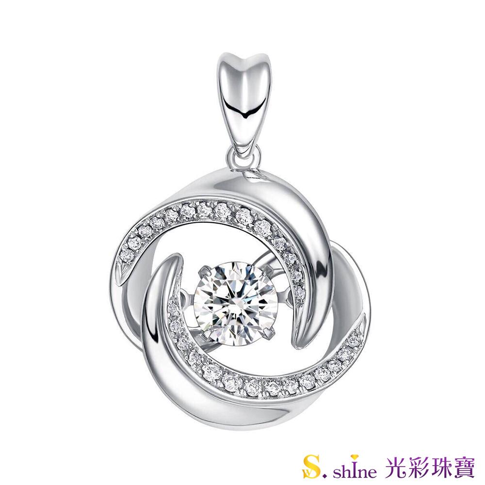 【光彩珠寶】GIA0.5克拉 日本舞動鑽石項鍊 忠於愛情Ⅳ