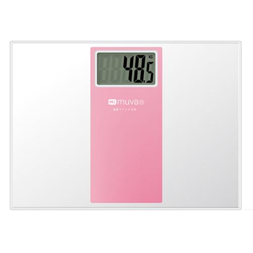 muva SA5401PK繽紛樂電子體重計(櫻花粉)