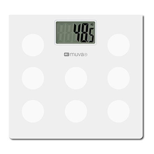 muva SA5402WH圓圓樂電子體重計(典雅白)