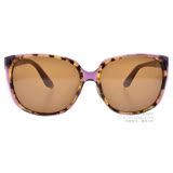 agnes b.太陽眼鏡 歐美流行貓眼款(琥珀棕紫) #AB2823 PD