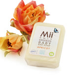【愛的世界】Mii Organics 法國杏桃油寶寶香氛皂(100g/個)-法國製