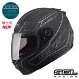 【SOL FF88 DERK】全罩式安全帽│3D立體內襯│機車│BWS KTR KYMCO