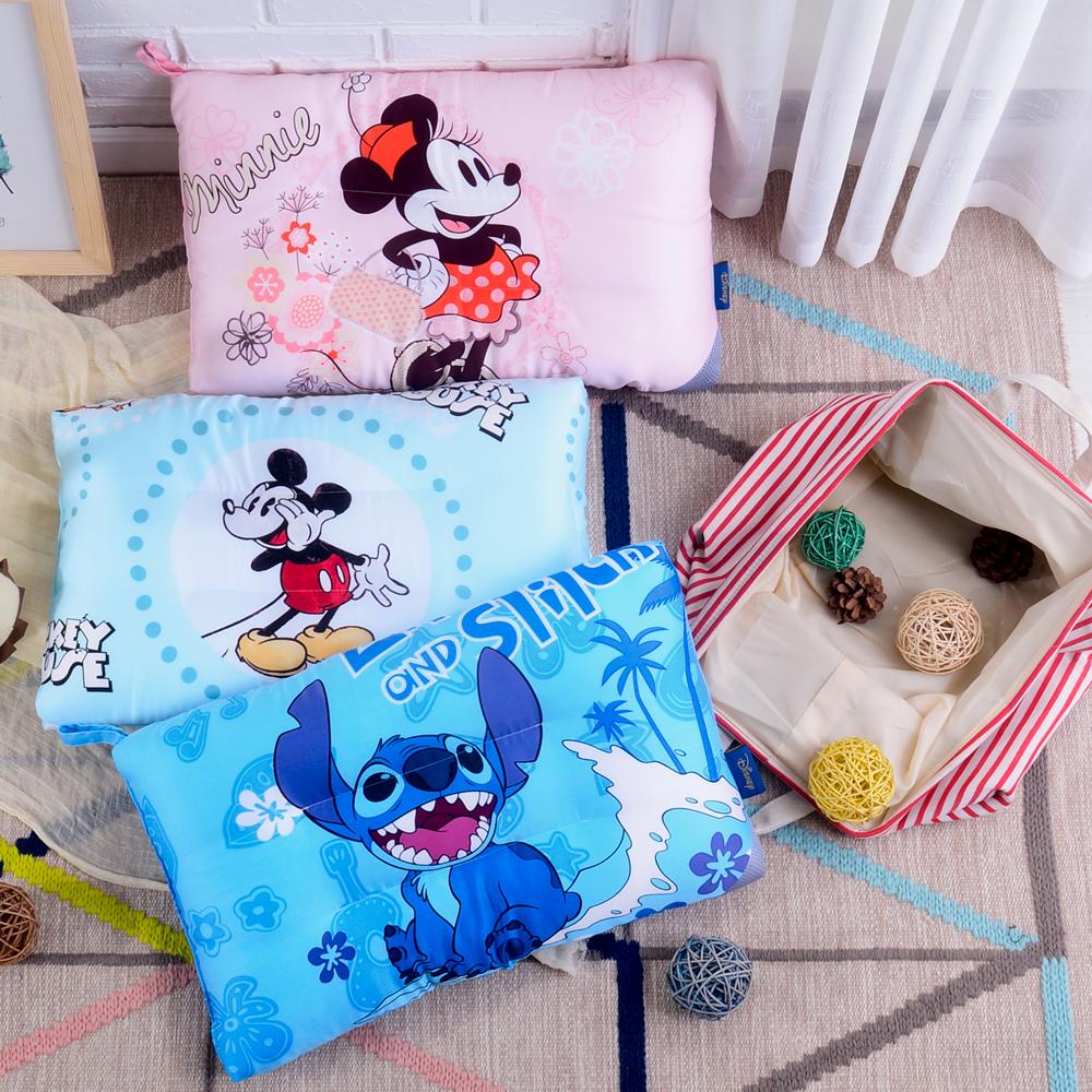 《HOYACASA 迪士尼》俏皮米奇-天絲水洗兒童Q棉枕