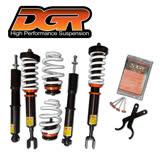 【DGR】高低軟硬可調式避震器 送專業安裝(適用於本田 FIT 08~14車型)