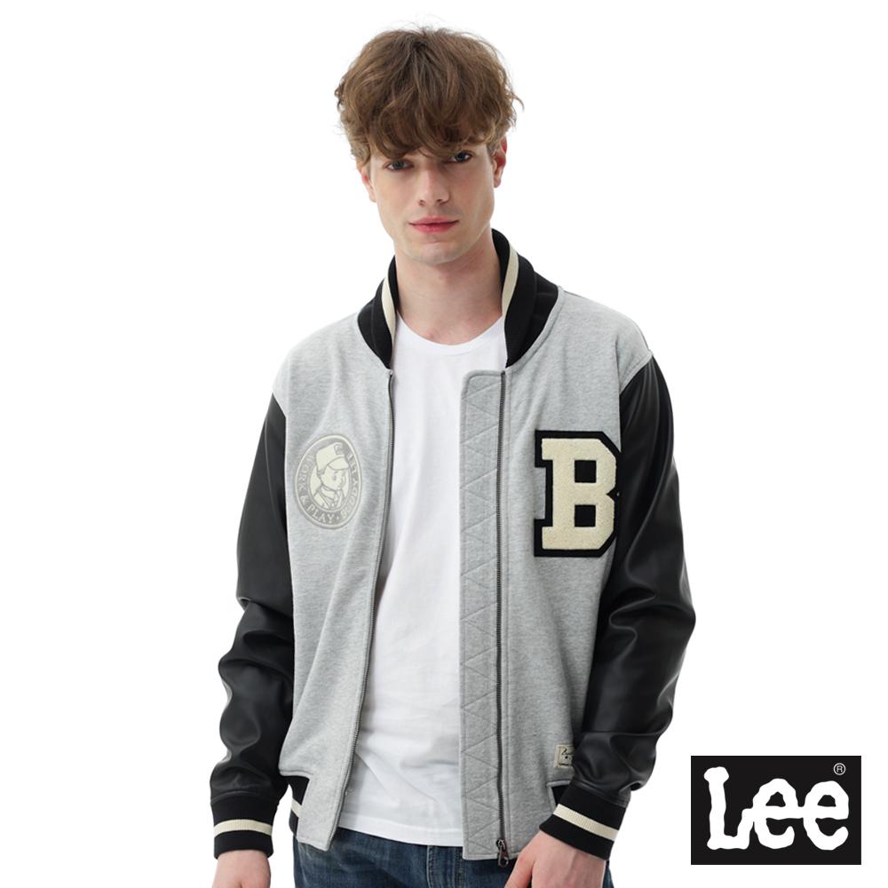 Lee Buddylee棒球外套/RG-男款-灰色