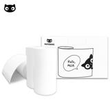 PAPERANG 口袋列印小精靈喵喵機 官方訂製專屬感熱紙-普通款
