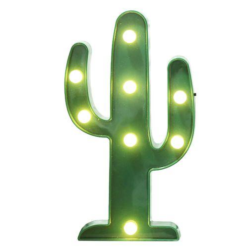 大力女造型LED小夜燈-仙人掌