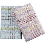 經典格紋毛巾-2入