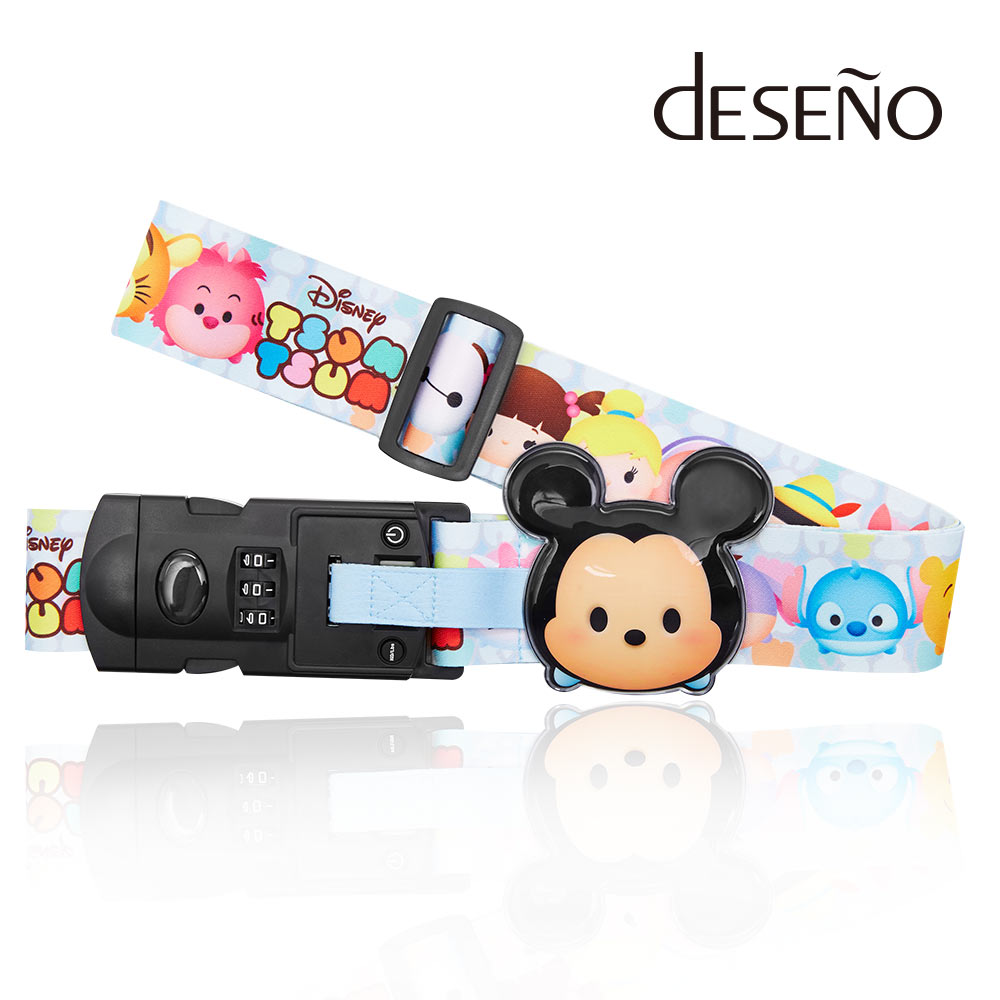 Disney-TSUMTSUM附行李秤束帶-米奇