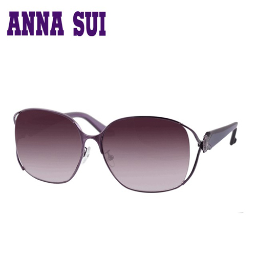 Anna Sui 日本安娜蘇花園系列太陽眼鏡-(紫色) AS880-735