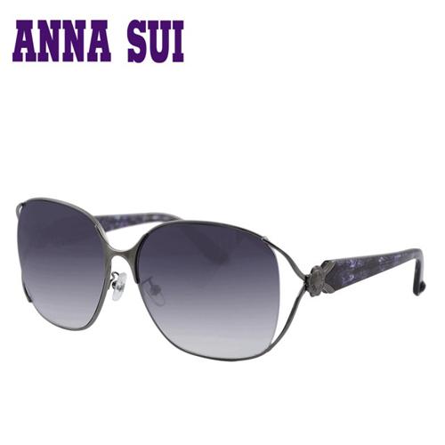 Anna Sui 日本安娜蘇花園系列太陽眼鏡-(黑紫色) AS880-986