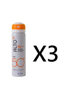 【三入】ALTO艾多曬全效防曬噴霧SPF50+ 75ml X3