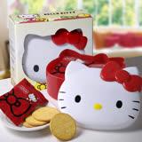 Hello Kitty Q臉造型餅乾盒2盒
