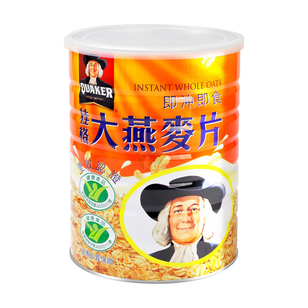 隨機贈奶粉包5包【桂格】大燕麥片 1100g x6罐