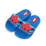 (中大童) MARVEL SPIDER MAN 蜘蛛人拖鞋 藍 MNKS79526 童鞋 鞋全家福