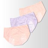 【黛安芬】Stretty小褲 內褲生理褲包三件組 M-EL