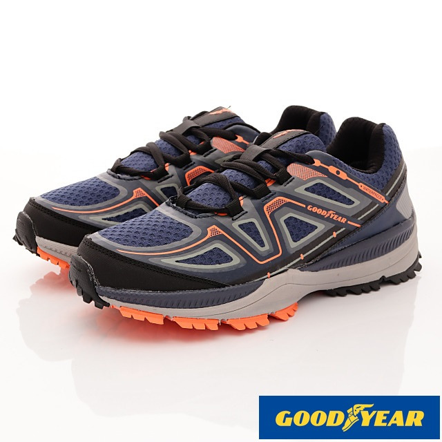GOODYEAR戶外鞋-戶外多功能鞋款-(MO73406藍-男款-25.5-29cm)