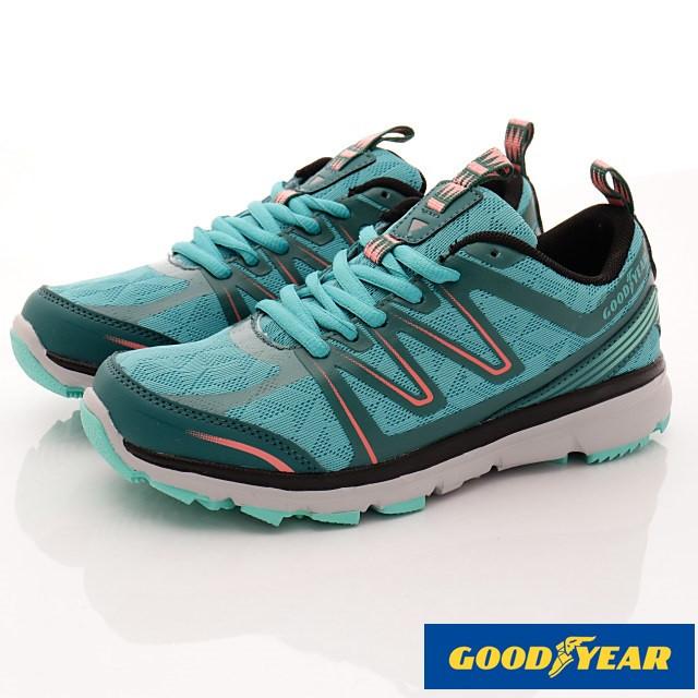 GOODYEAR戶外鞋-戶外多功能鞋-(WR72215湖綠-女款-23~25.5cm)