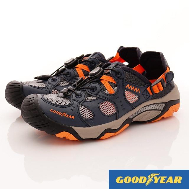 GOODYEAR戶外鞋-水陸兩用鞋-(MW73886藍桔-男款-25.5~29cm)