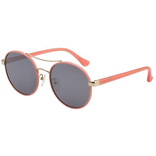 Calvin Klein-復古款 水銀面 太陽眼鏡(粉色)CK1228SK