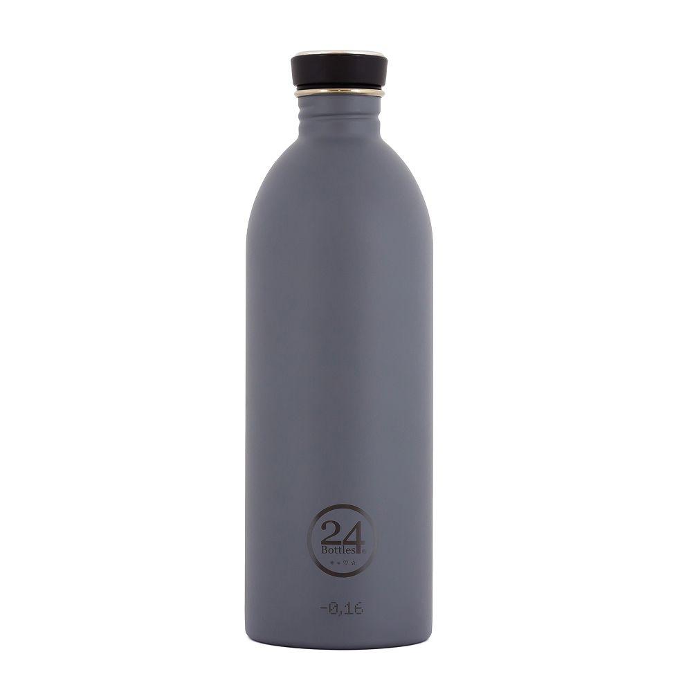 義大利 24Bottles 城市水瓶 1000ml - 典雅灰