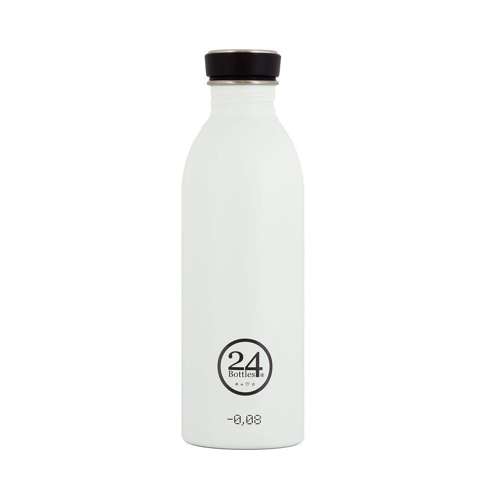 義大利 24Bottles 城市水瓶 500ml - 冰雪白