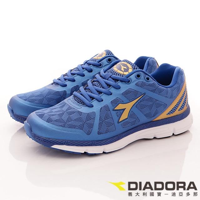 DIADORA義大利國寶鞋-雙網漸層運動款-MR5506藍-男段-(25.5cm-29cm)