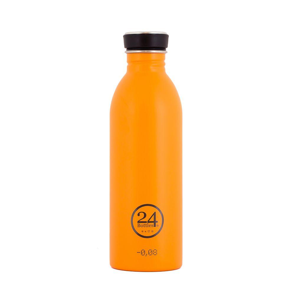 義大利 24Bottles 城市水瓶 500ml - 極致橙