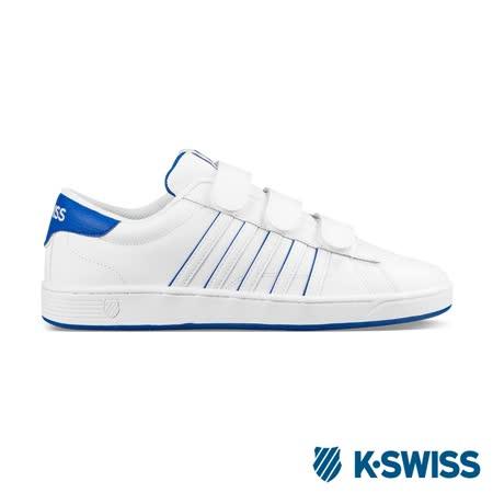 K-Swiss Hoke 3-Strap SP CMF休閒運動鞋-男-白/藍
