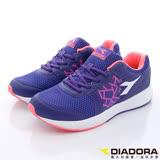 DIADORA義大利國寶鞋-乳膠動能運動鞋款-WR3397藍紫-女段-(23.5cm-24.5cm)