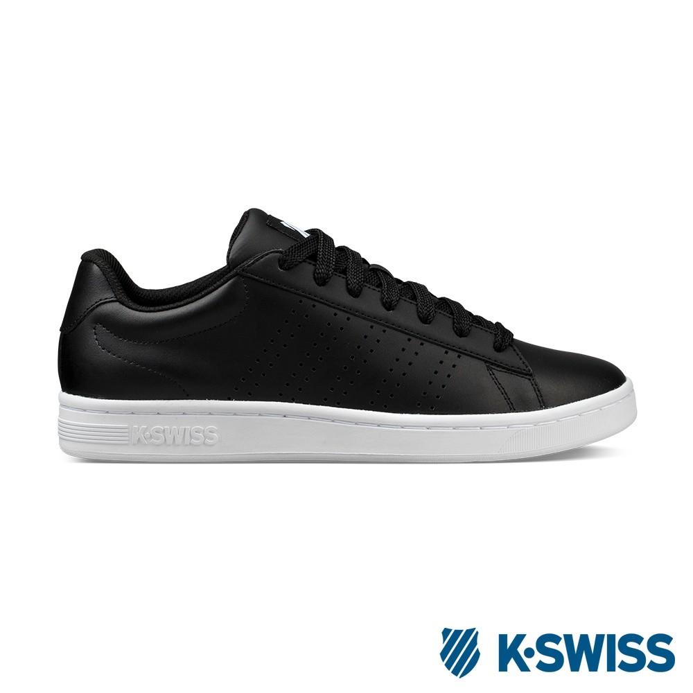 K-Swiss Court Casper休閒運動鞋-男-黑/白