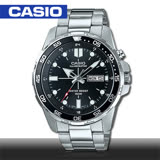 CASIO 卡西歐 日系經典款 防水不鏽鋼指針男錶 MTD-1079D-1A