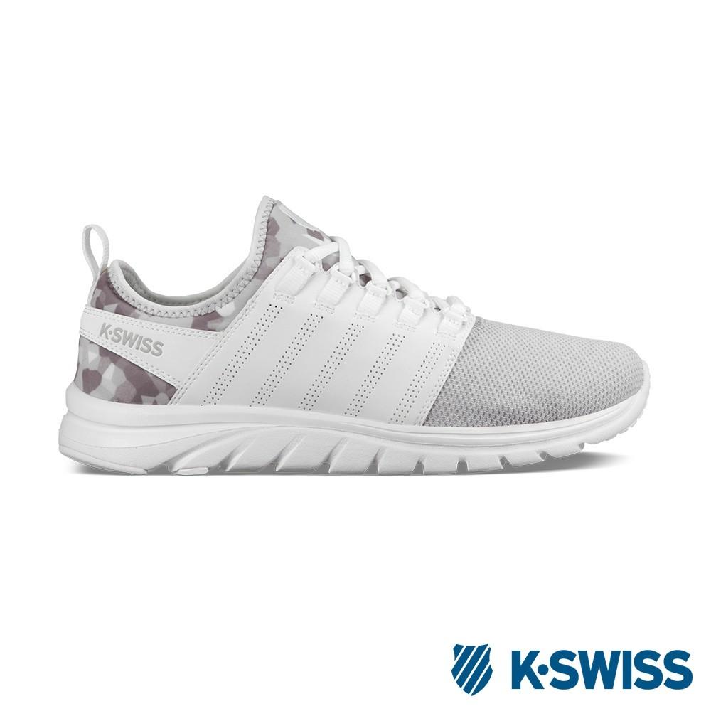 K-Swiss Ace Trainer CMF輕量訓練鞋-男-白/幾何