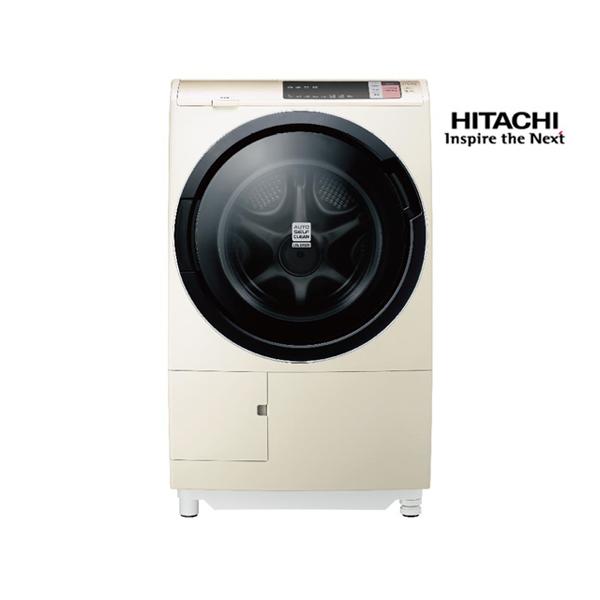 【好禮三選一】HITACHI日立 12.5公斤(窄版右開)尼加拉飛瀑滾筒式洗脫烘(日本原裝)BDSV125AJR